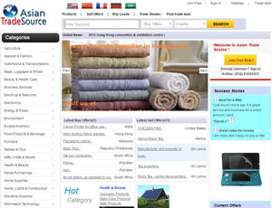 AsianTradeSource.com - Asian Trade Source B2B Marketplace