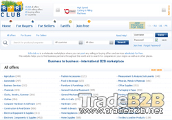 B2B-club.ru - Russia International Business Marketplace