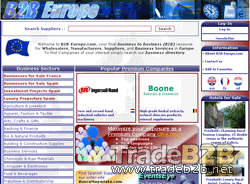B2B-Europe.com - European (B2B) business directory