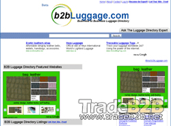 B2bluggage.com - Luggage Companies and Resources