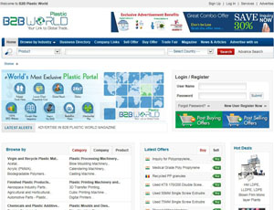 B2bplasticworld.com - Plastic B2B Trade Marketplace