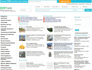 B2Btrademarketing.com - Import Export Global Trade Leads