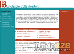 B2Bwholesalecraftsdirectory.com - Art and Crafts Wholesalers Directory