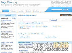 Bagsdirectory.com - Bag Supplier Directory