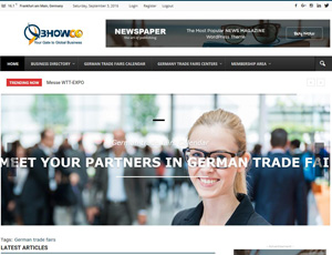 Bhowco.de - Germany B2B and trade fairs
