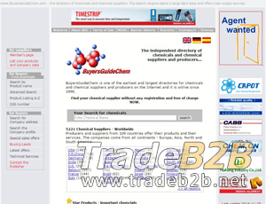 Buyersguidechem.com - Chemcial suppliers and producer directory