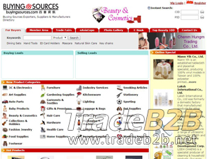 Buyingsources.com - online trade shows and B2B site