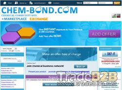 Chem-bond.com - Chemical B2B platform and business directory