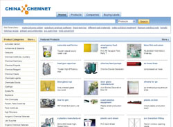ChemChinaNet.com - Find Chemical Suppliers and Products from China