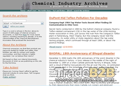 Chemicalindustryarchives.org - Chemical Industry Archives