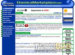 Chemicalmarketplace.com - The E-Marketplace for the Chemical Industry