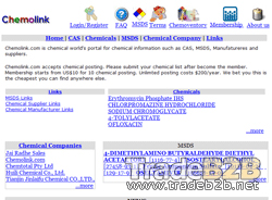 Chemolink.com - MSDSand manufactures and suppliers
