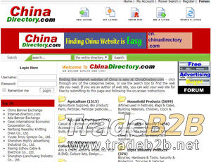 Chinadirectory.com - China directory for companies
