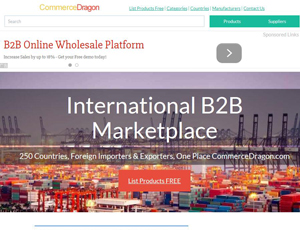 Commercedragon.com - International B2B Marketplace of Suppliers