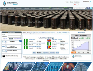 Crudeoiltrade.com - Crude Oil Marketplace Find Buyers & Sellers