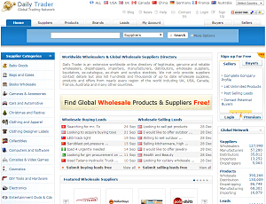 DailyTrader.com - Wholesale Suppliers Directory