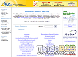 Ebiznext.ca - Canadian B2B Portal,Business to Business Directory