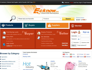 Ecknow.com - Global Buyers and Suppliers B2B Marketplace