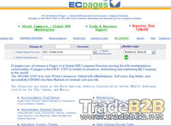 ECpages.com - The eCommerce Pages is a global b2b company directory