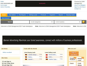 Emmmodel.com - Free B2B Trade Marketplace