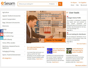 Esesam.eu - Directory of European wholesale manufacturers