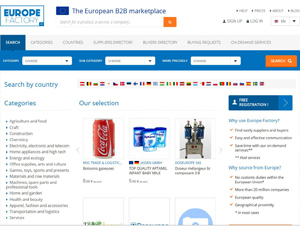 Europefactory.eu - The European B2B marketplace