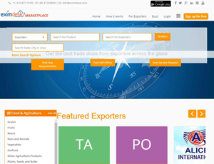 Eximdesk.com - Global B2B Marketplace for Exporters and Buyers