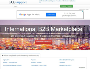 Fobsupplier.com - International B2B Marketplace