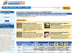 FoodMarketExchange.com - Free Food Trade Leads