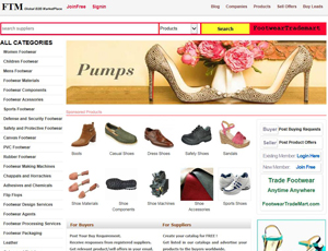 Footweartrademart.com - Global B2B Footwear Market Place
