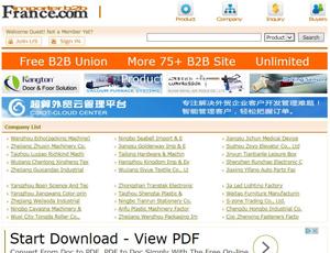 France-importer.com - France b2b trade marketplace