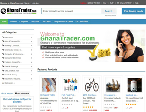 Ghanatrader.com - Buy Necessities For Ghana Trade