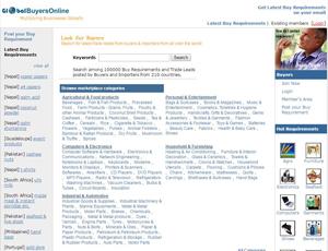 Globalbuyersonline.com - Indian online Import Export Marketplace