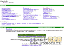 Google Chemicals Directory - Chemicals Business