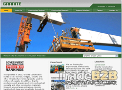GraniteConstruction.com - Construction Machinery B2B Portal