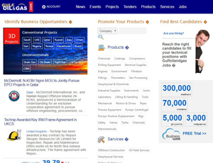 Gulfoilandgas.com - Global B2B marketplace for Oil & Gas and Unconventional Resources