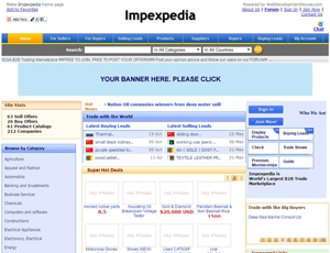 Impexpedia.com - Import and Export Trade Marketplace