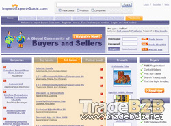 Import-Export-Guide.com - Import Export Trade Leads