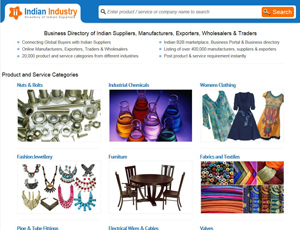Indianindustry.com - Business Directory of Indian Suppliers and Exporters