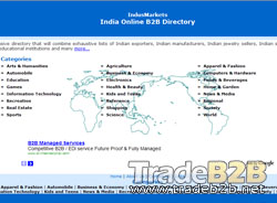 Indusmarkets.com - India Online B2B Marketplace and Online Business Directory