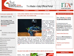 Italtrade.com - The Made in Italy Official Portal