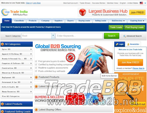 Livetradeindia.com - India B2B Trading Marketplace