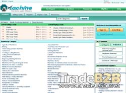 Machine.cc - China Manufacturers directory for international trade of machinery