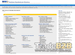 Machines-manufacturers.com - Machine Manufacturer Directory