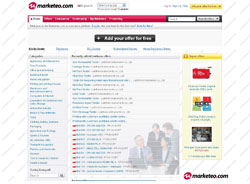 Marketeo.com - Free B2B Marketplace