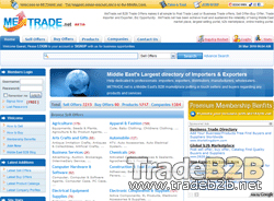 Metrade.net - Middle East Trading Marketplace and business directory