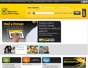 Montserratyp.com - Montserrat Yellow Pages