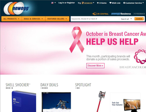 Newegg.com - Cross-border e-Commerce marketplace