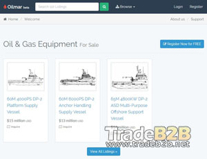 Oilmar.com - Oil and Gas Equipment b2b marketplace