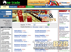 Onetrade.biz - International Import Export Trade Leads